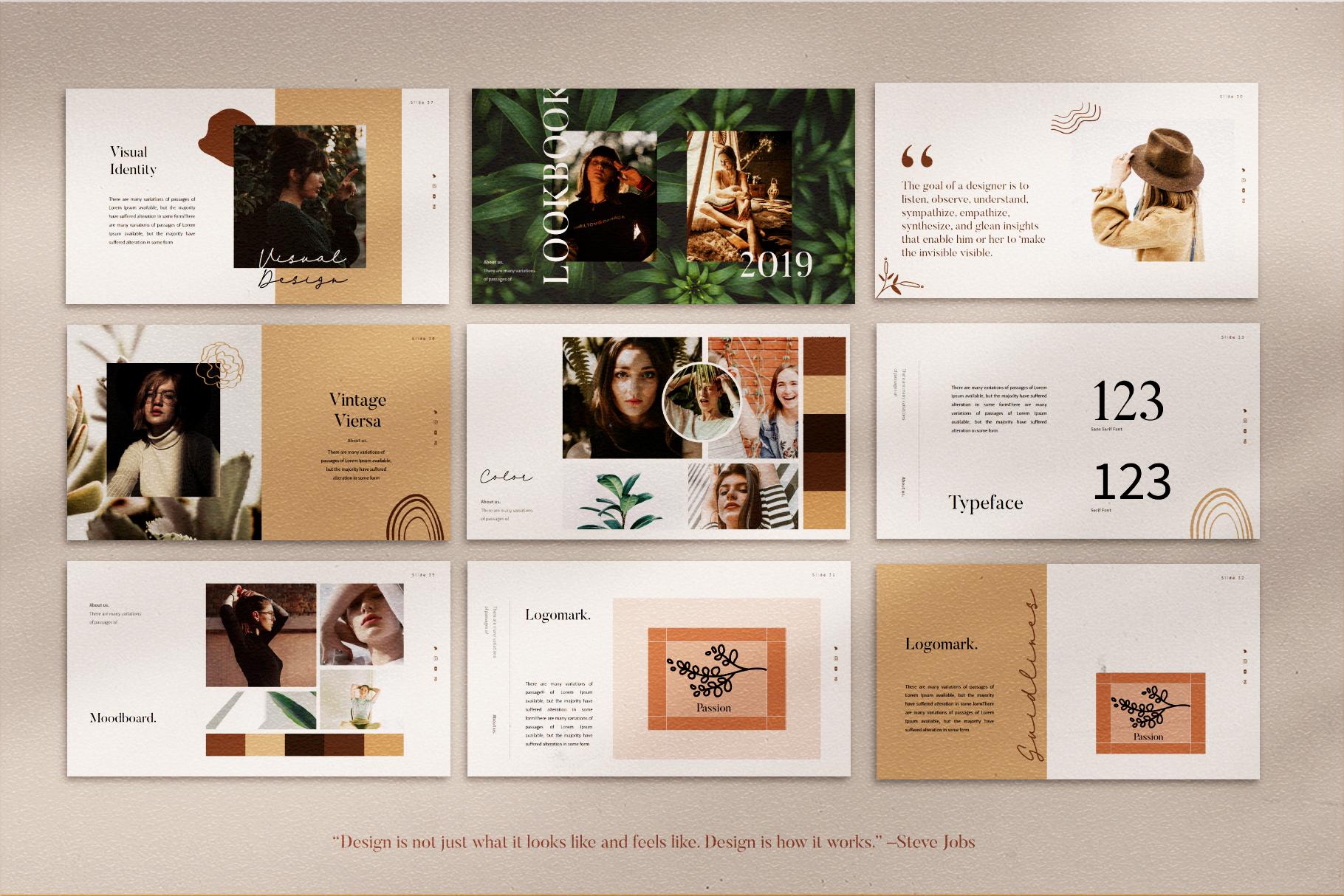 VIersa Creative Presentation Template example image 11
