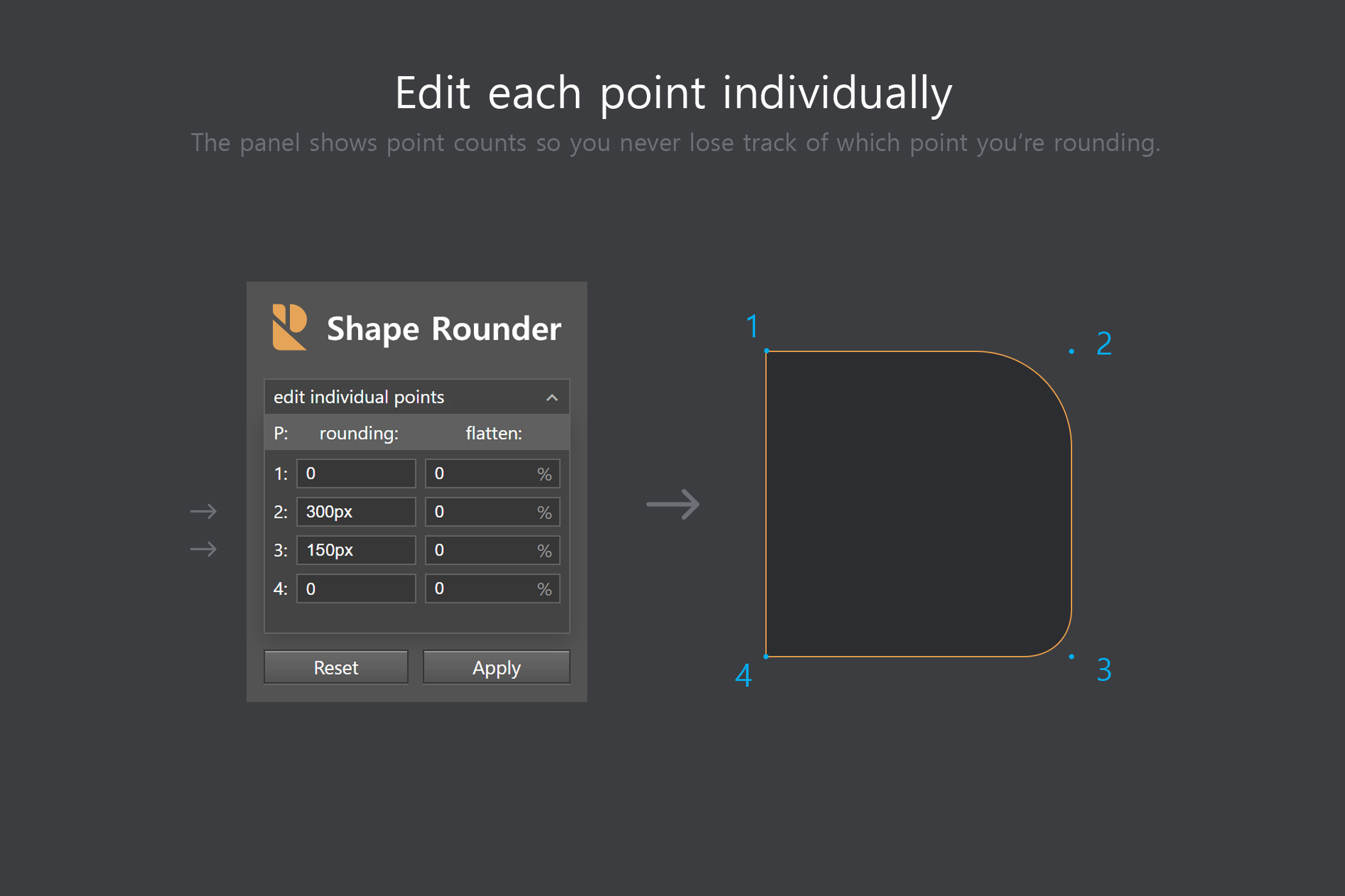 Shape Rounder - Path Editing Kit example image 7