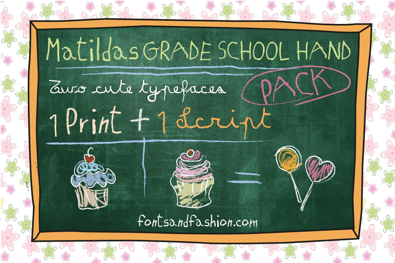 Matildas Grade School Hand_Pack example image 4
