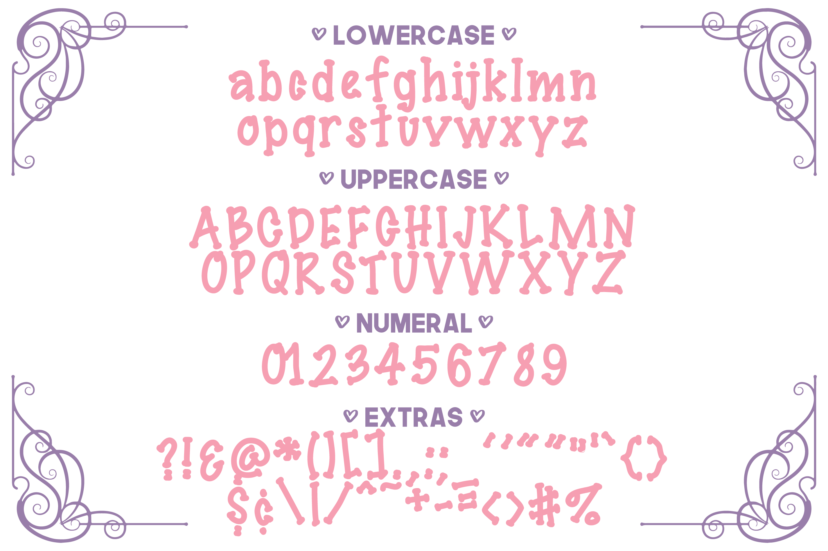 Giggles Dotted Serif Font example image 2