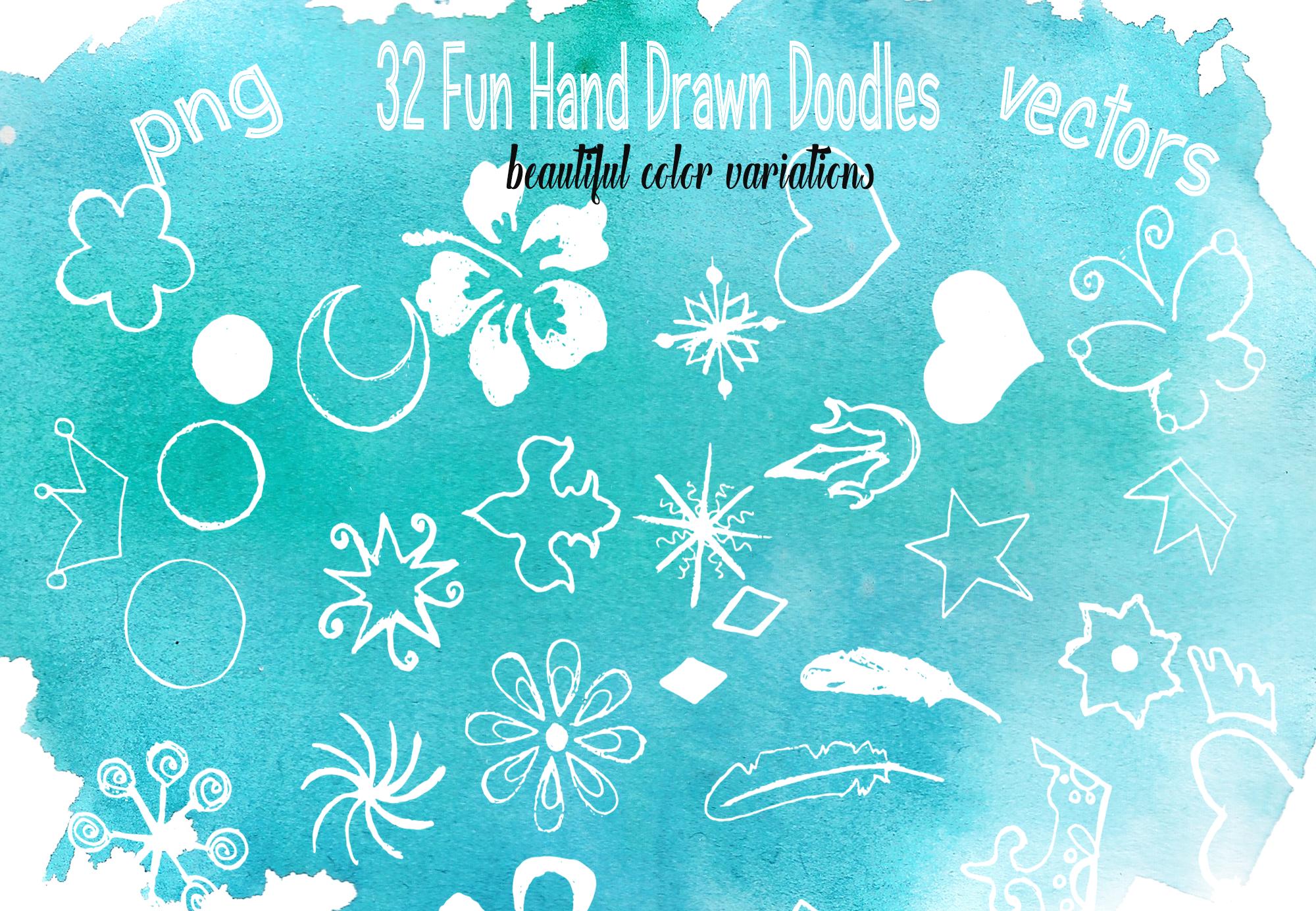 Magic Winter Watercolor Pack example image 5