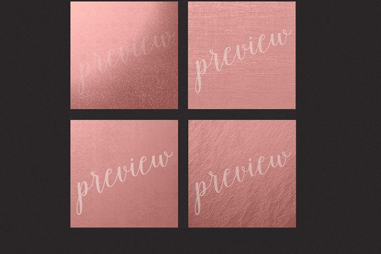 Rose Gold Foils - Rose Gold Backgrounds example image 4