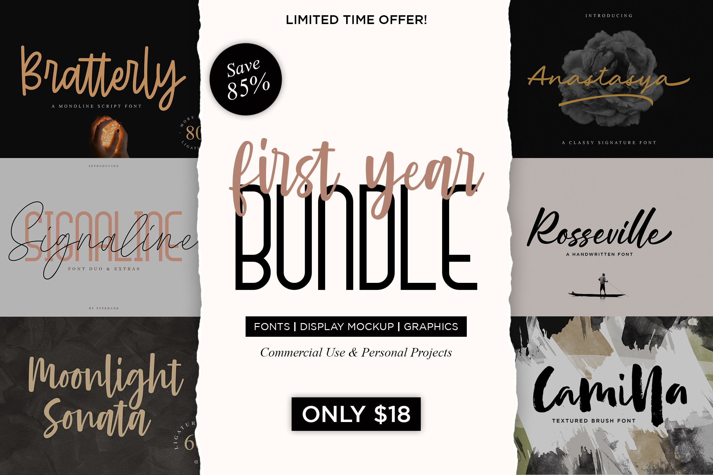 First Year Bundle !! 85 OFF !! example image 1
