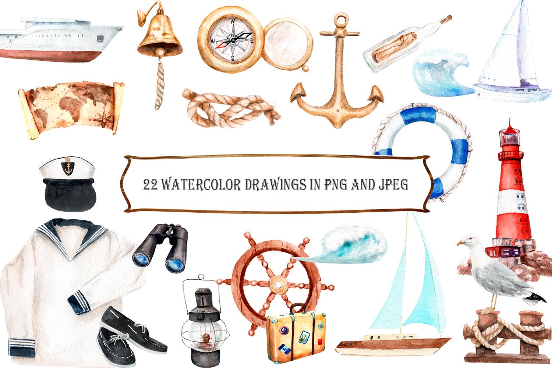 Watercolor Cruise, Yakhtin, Voyage example image 4