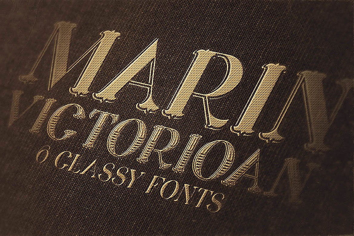 Marin - Victorian Font example image 5