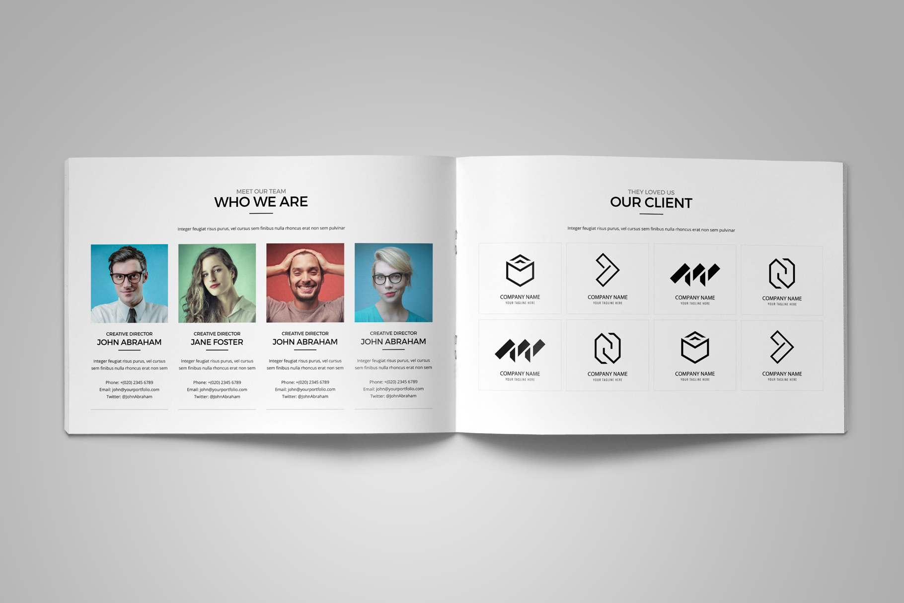 Portfolio Brochure Design v5 example image 11