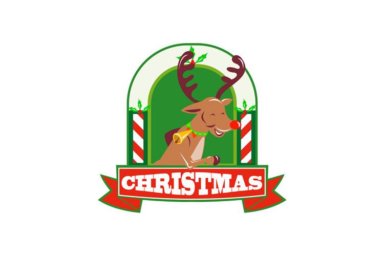Reindeer Deer Stag Buck Christmas example image 1