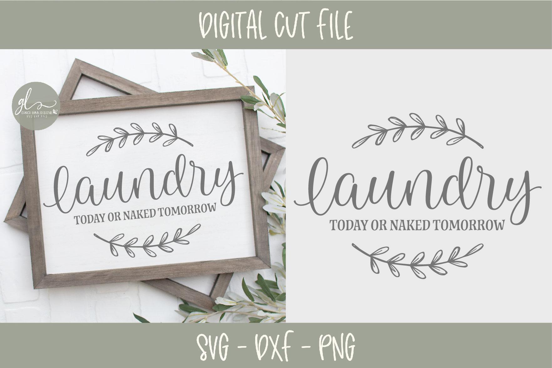 Laundry Sign Bundle - 20 Designs - SVG Cut Files example image 7