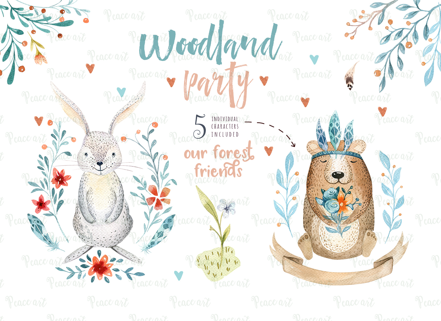 Woodland party I example image 7