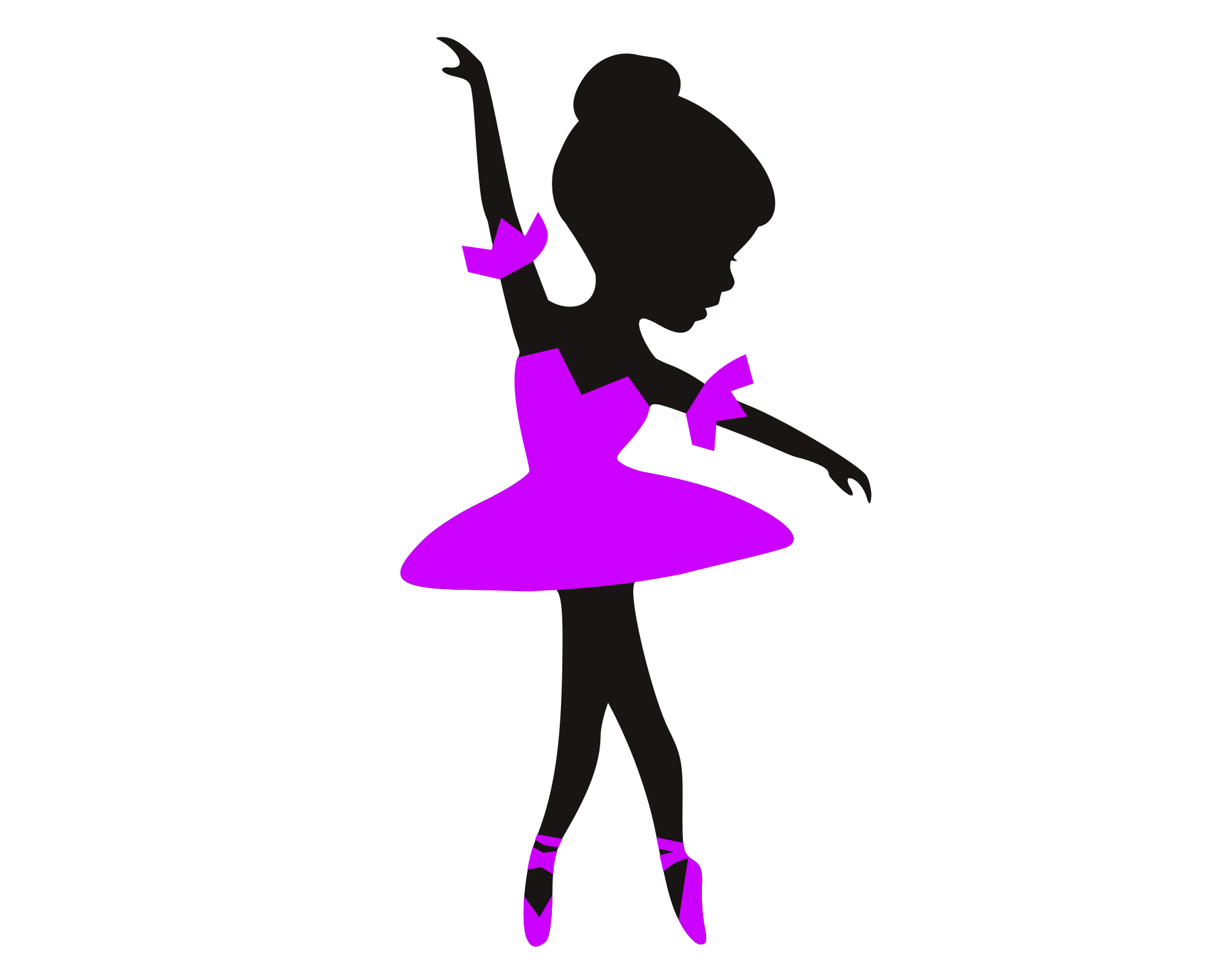 Ballerina svg example image 1