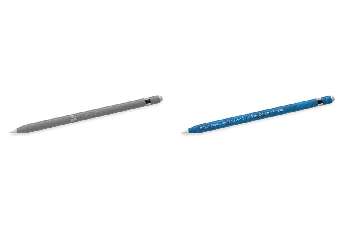 Apple Pencil for iPad Pro Vinyl Skin Design Mockup example image 4