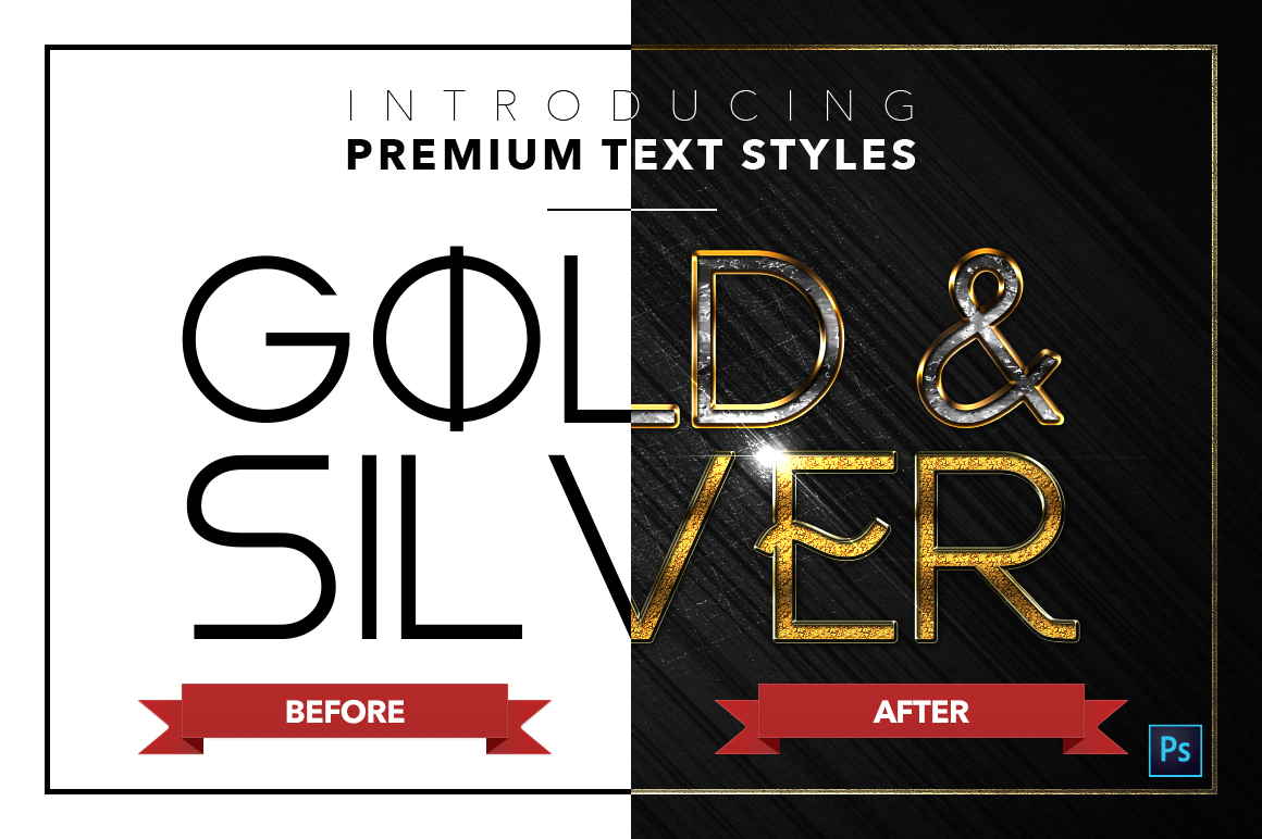 Gold & Silver #5 - 15 Text Styles example image 17