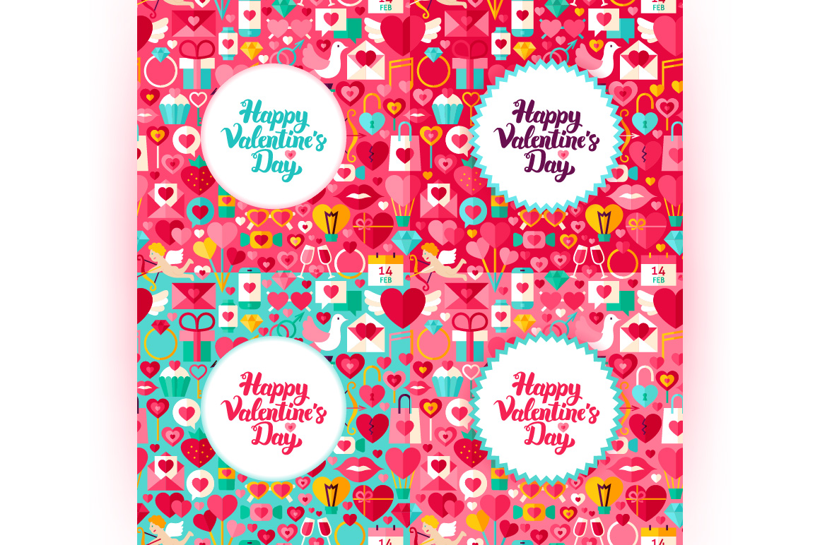 Happy Valentine's Day Concepts example image 2