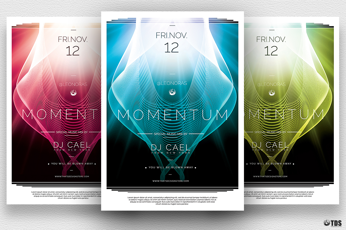 Momentum Flyer Template example image 1