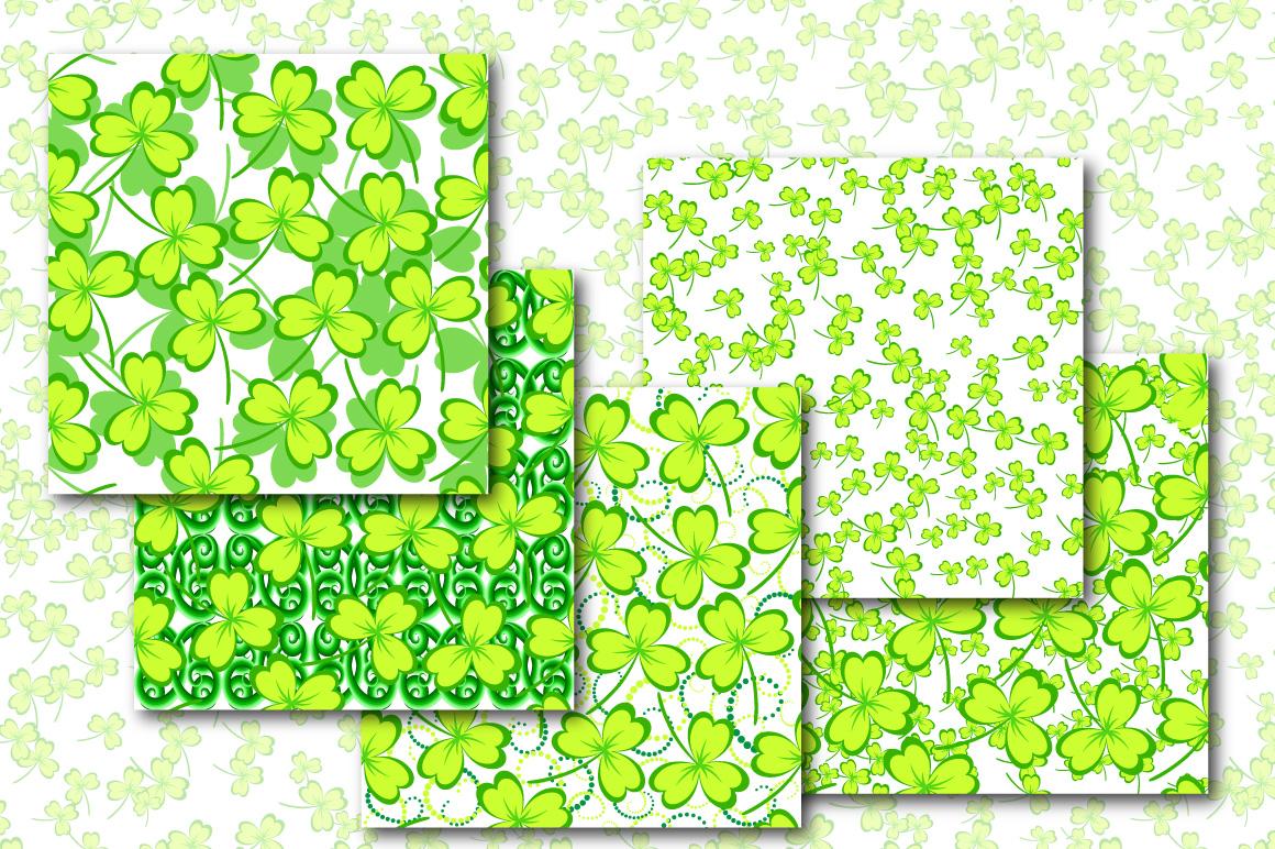 Shamrock - Seamless Patterns example image 2