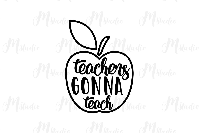 Teacher SVG Bundle. example image 23