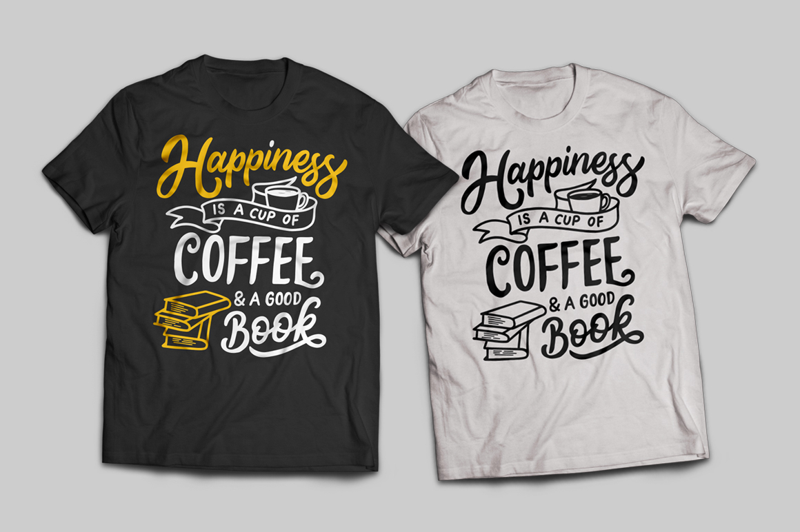 Set of Hand Lettering Coffee Quotes - SVG Cut File Bundle example image 7