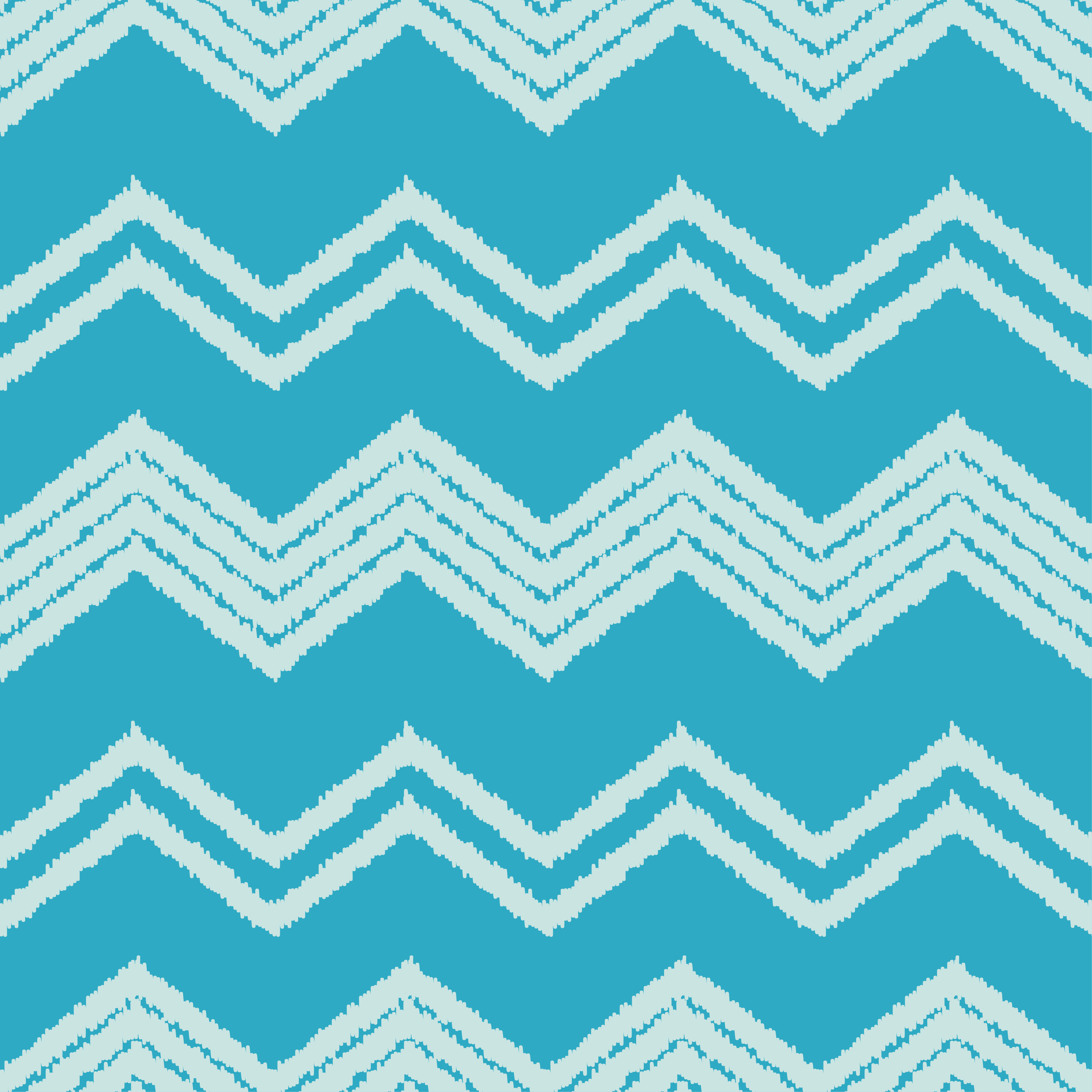Ethnic boho seamless pattern. Scribble zigzag texture.  example image 5