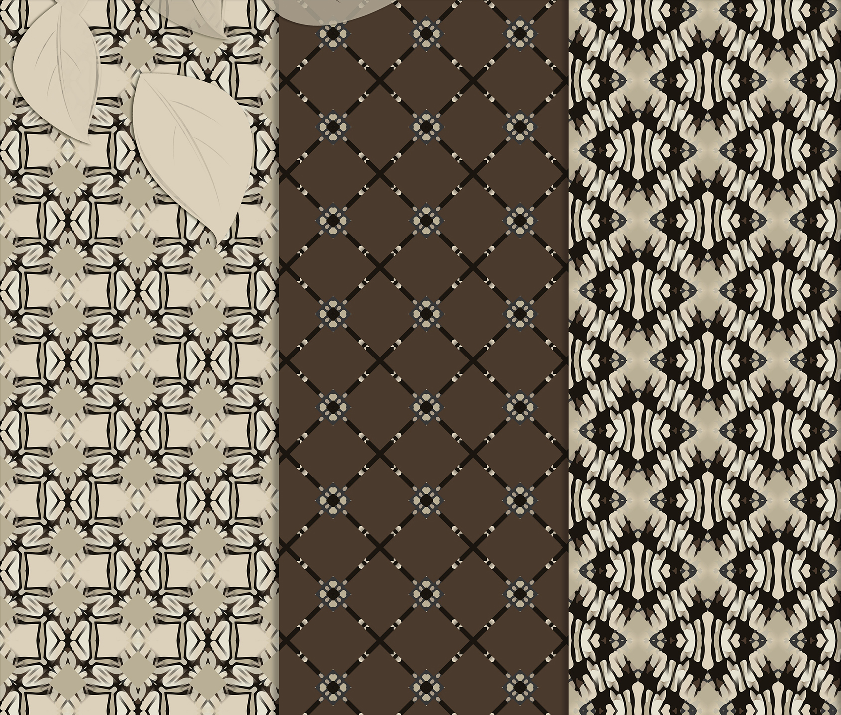 Brown-Gray abstract Digital Scrapbook Paper example image 2