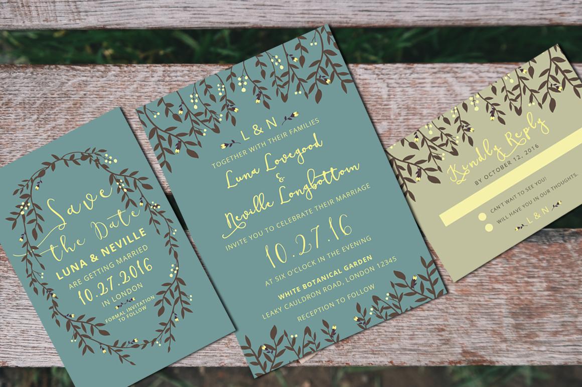 Wedding Invitation Suite example image 3