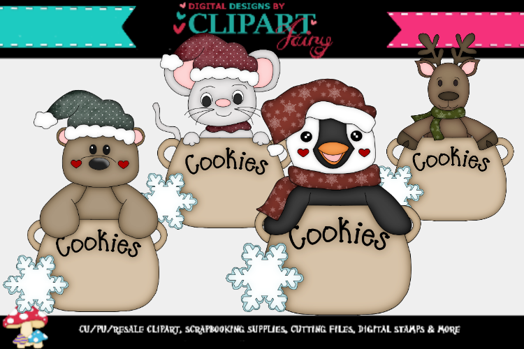 Christmas Cookies Jars example image 1