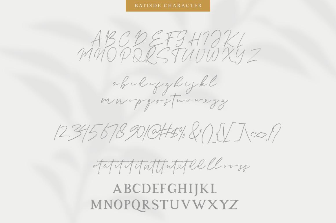 Batisde Font Duo example image 6