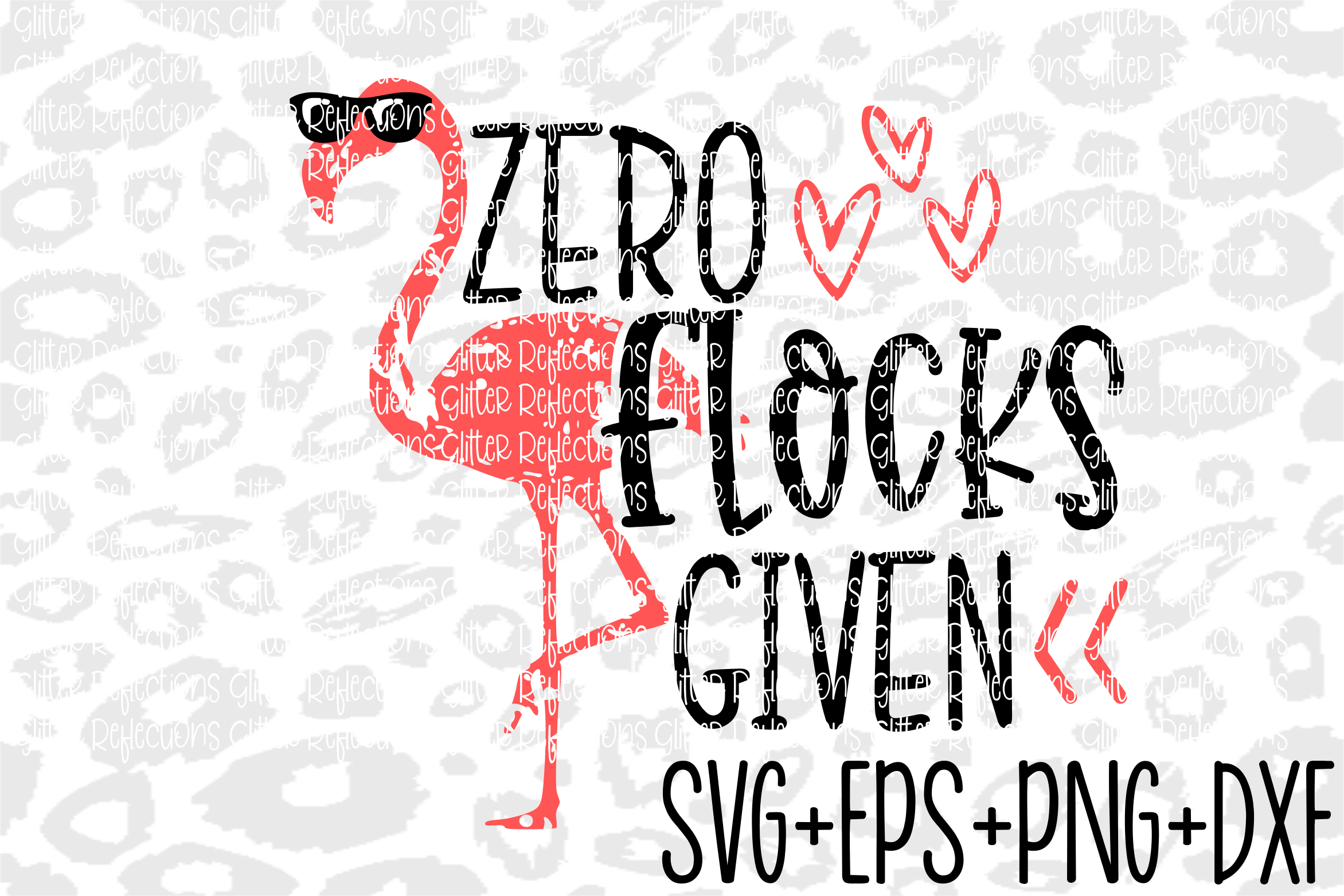 Flamingo Svg- What the flock- Iron On- Summer Svg example image 1