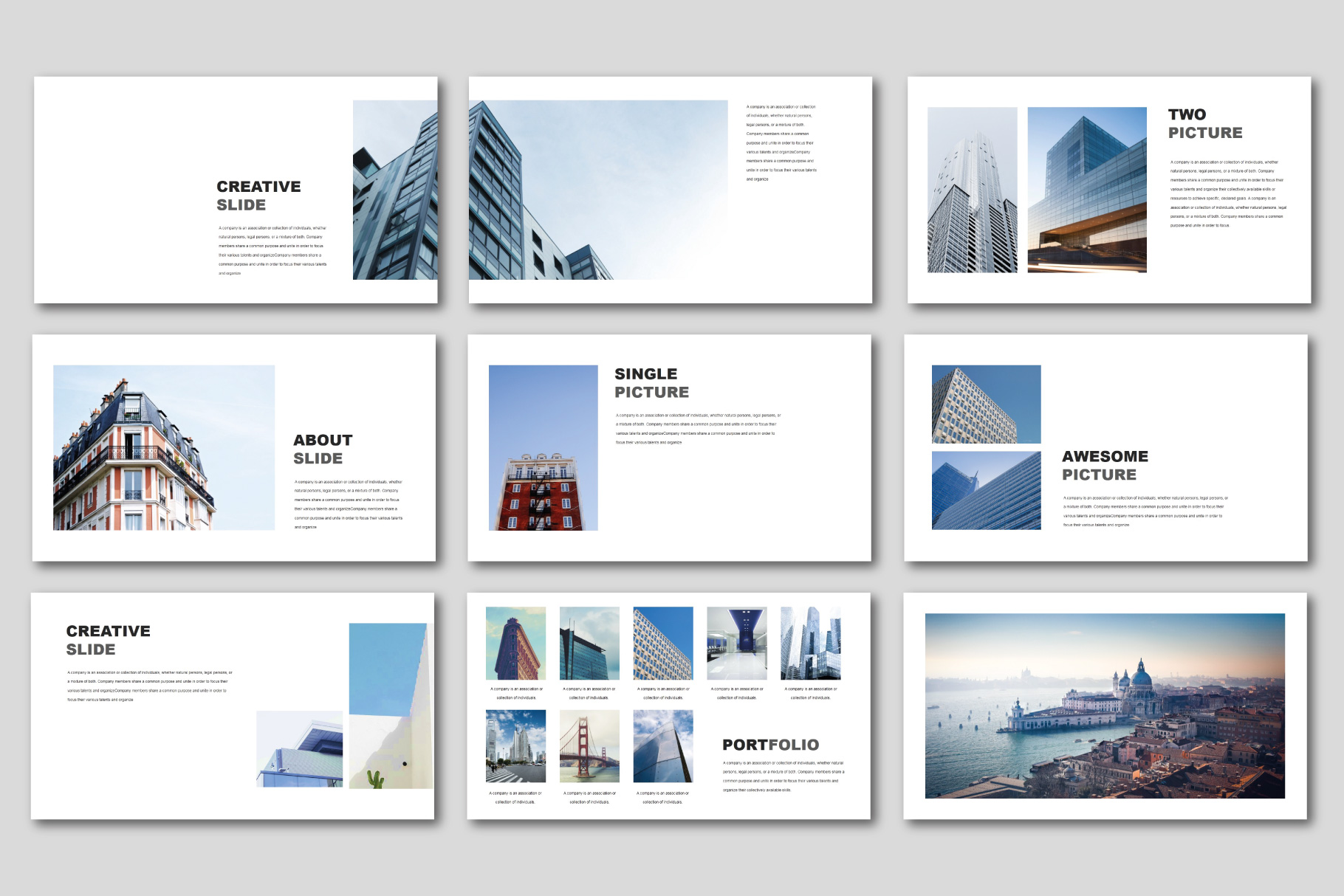 The Best Concept Business PowerPoint example image 4
