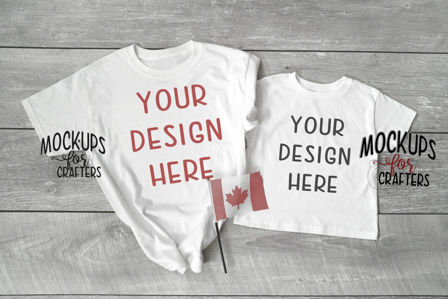 MOCK-UP BUNDLE CANADIAN THEME - BABY BODYSUITS, T-SHIRTS example image 6