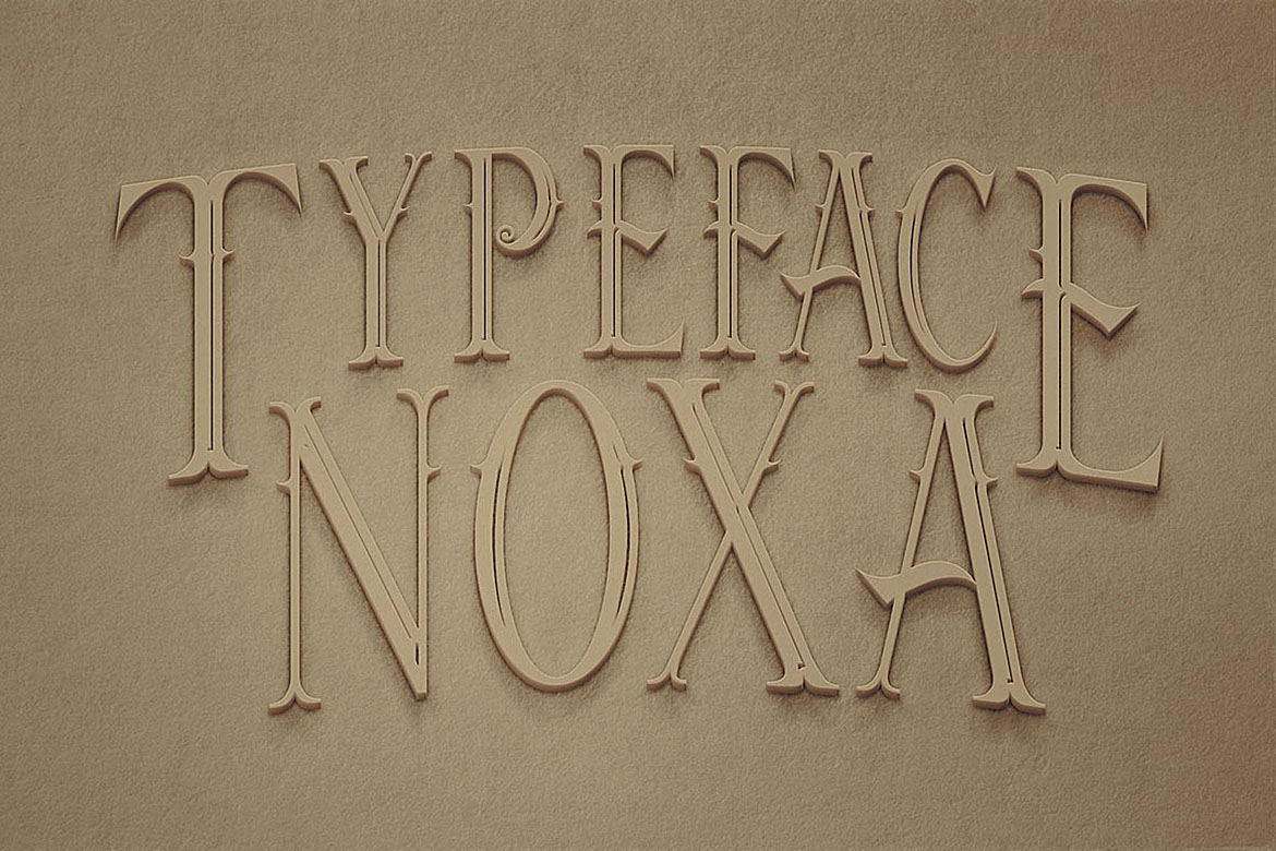 Noxa - Display Font example image 2