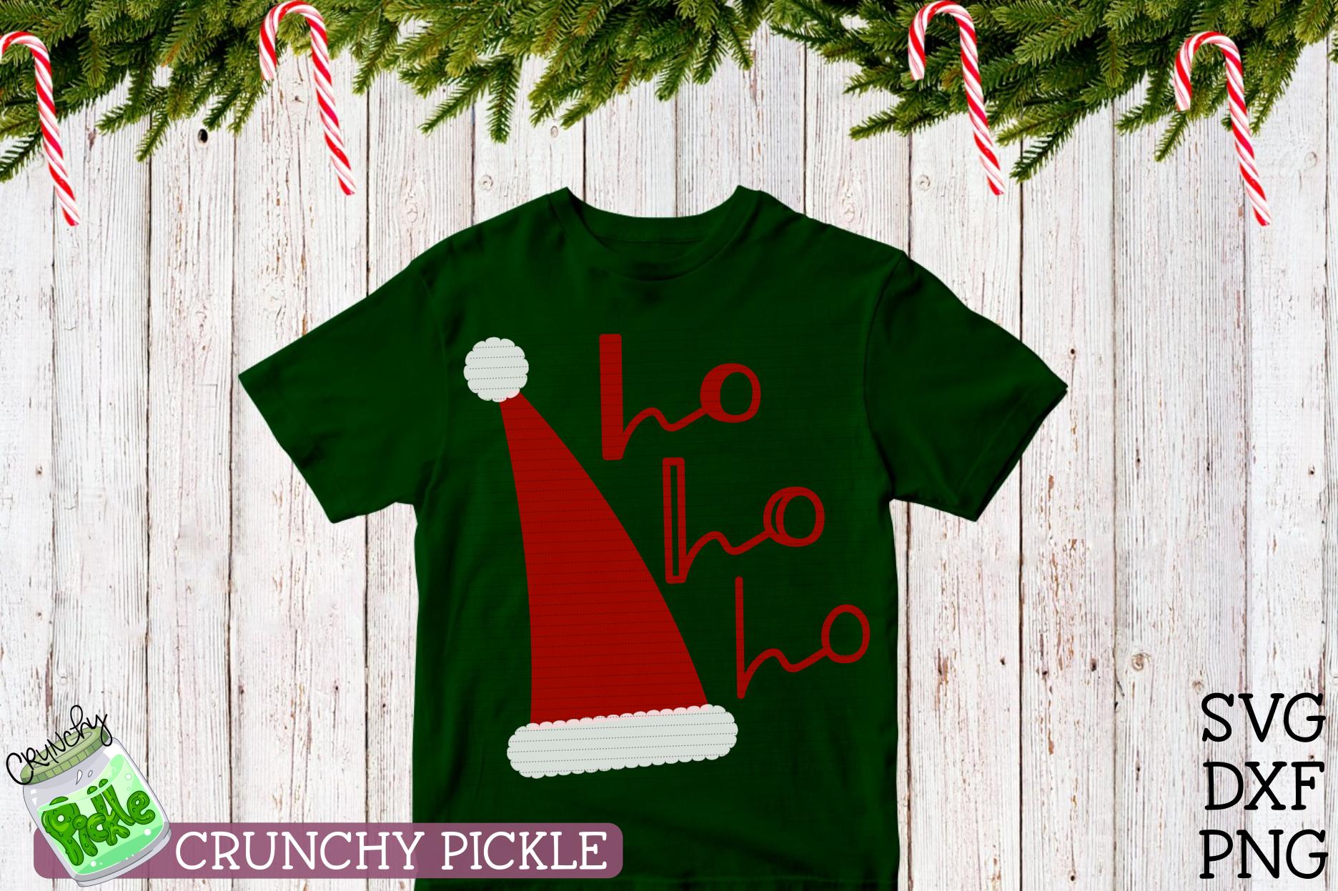 Santa Claus Hat Christmas SVG example image 3