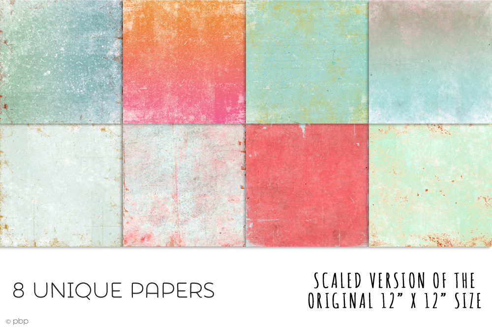 Vintage Paper Textures 3 example image 4
