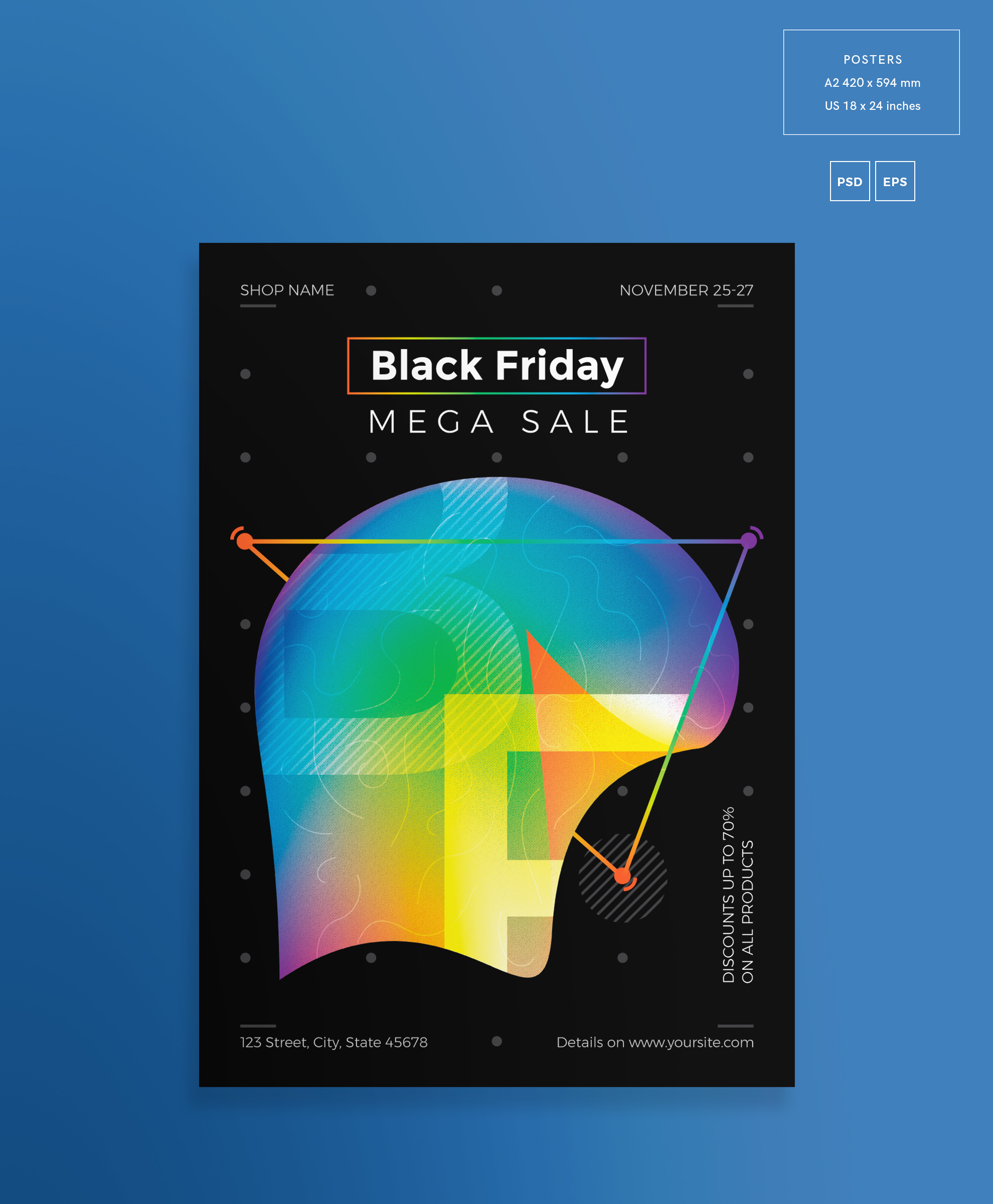 Black Friday Sale Design Templates Bundle example image 3