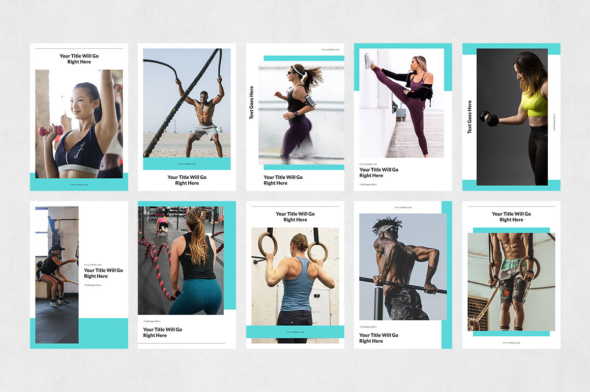 Fitness Pinterest Posts example image 8