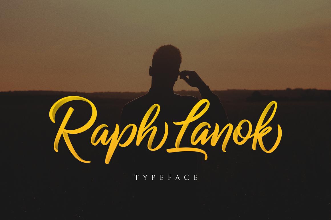Raph Lanok Typeface example image 1