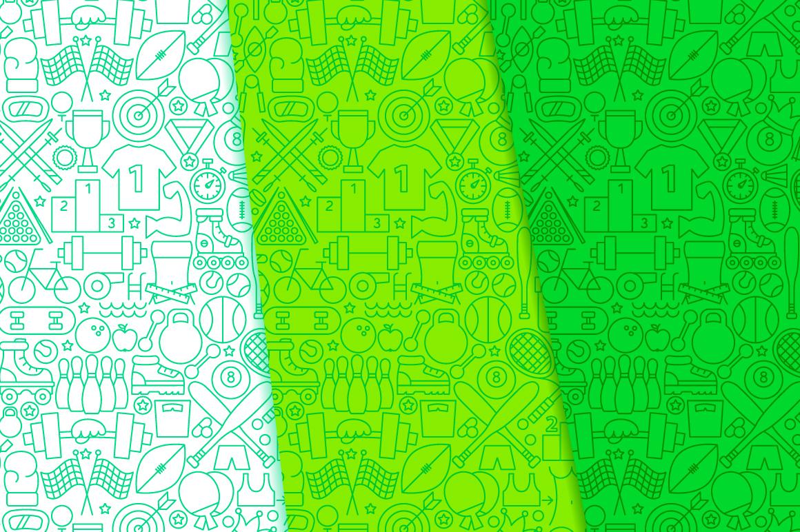 Sport Line Tile Pattern example image 4