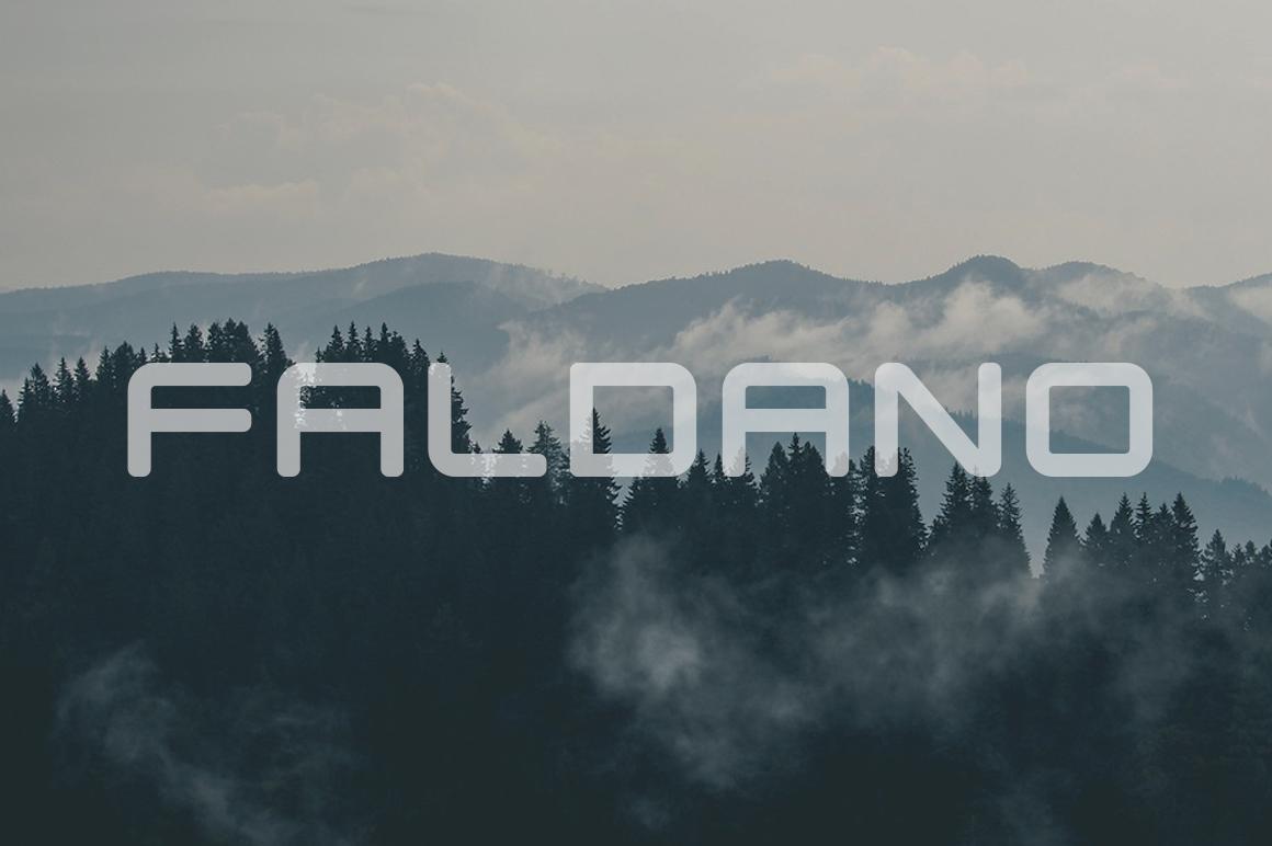 Faldano Font example image 1
