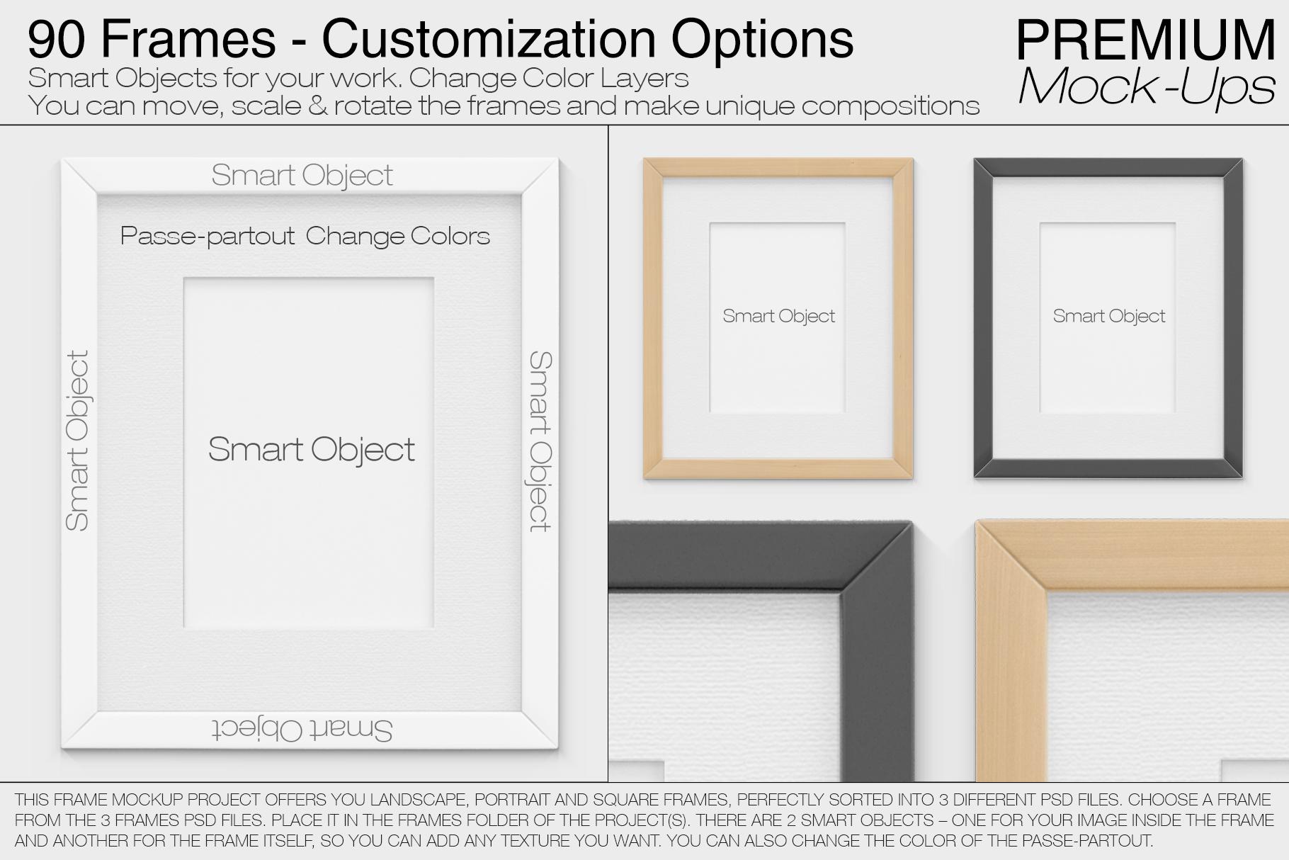 Pillows & Frames Mockup Set example image 4