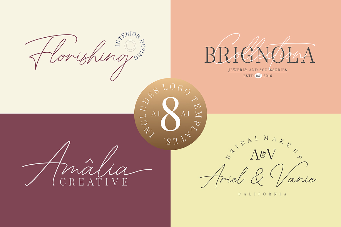 American Favorite - Luxury Font Duo example image 12