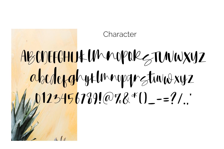 Monsterear font script example image 4
