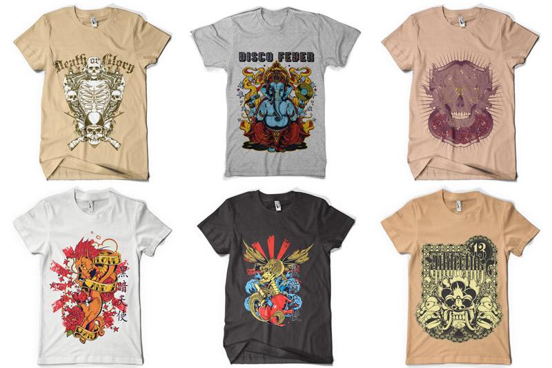 100 T-shirt Designs Vol 4 example image 6