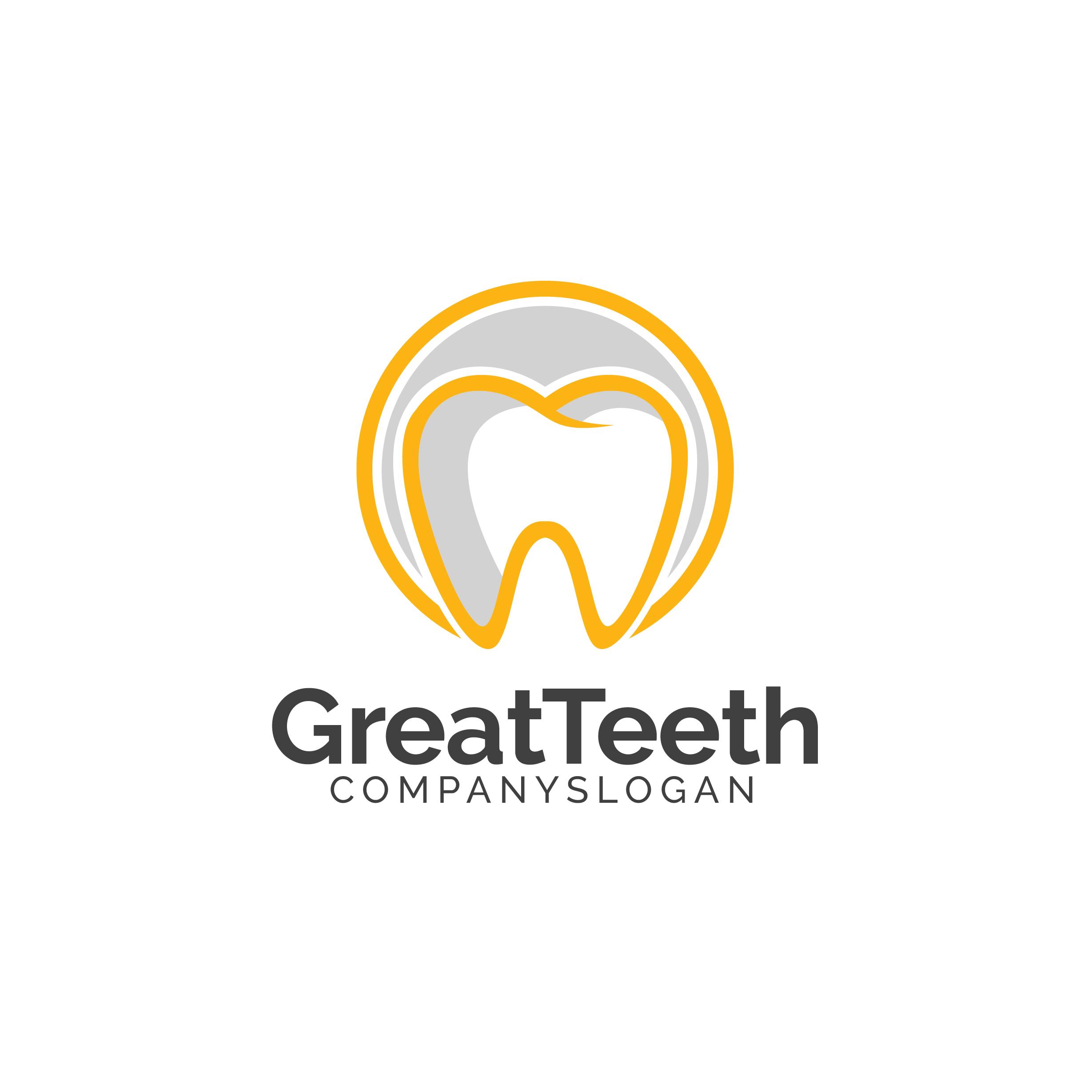 Great Teeth Dental Logo example image 4