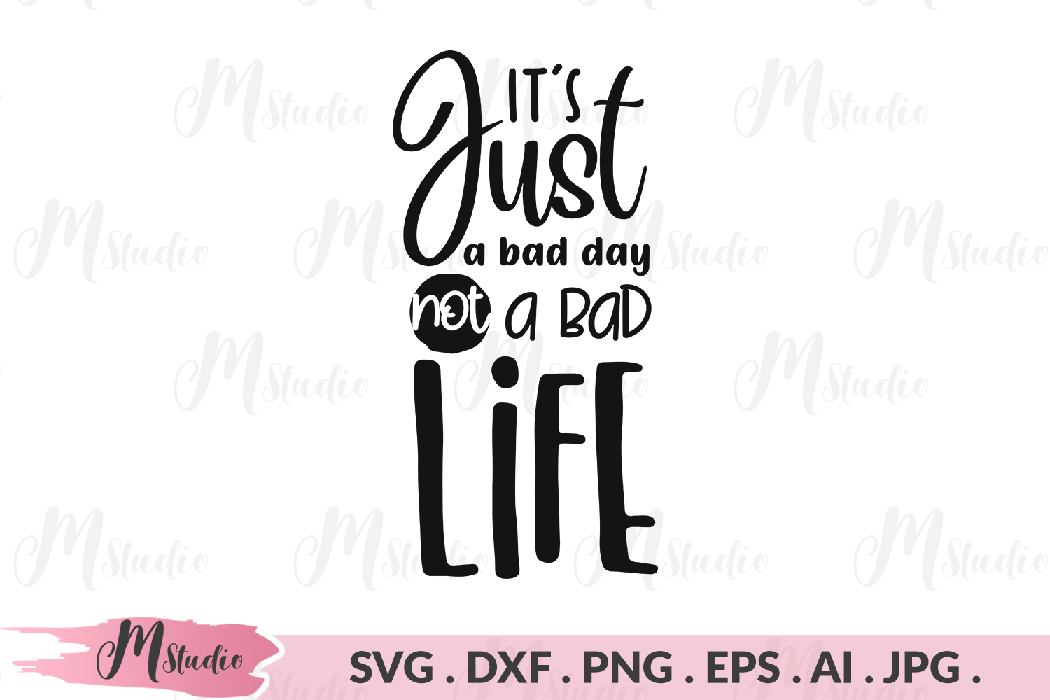 It's just a bad day svg. example image 1