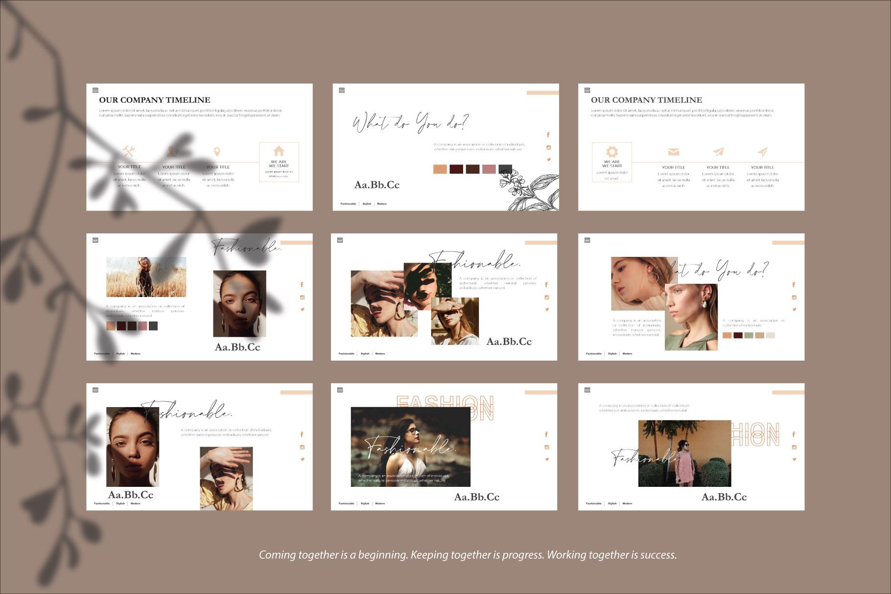 Claudia Keynote Template example image 4