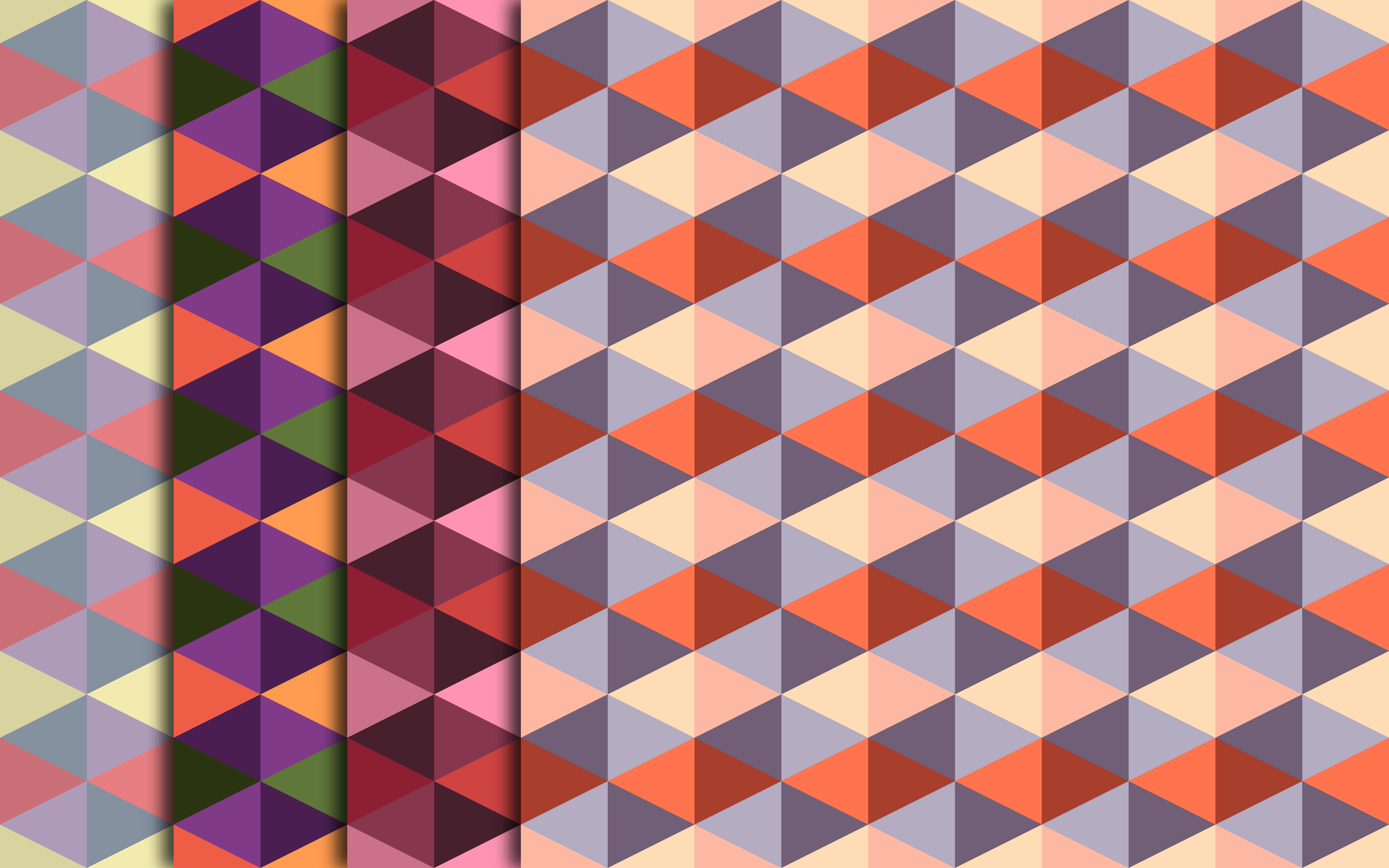 Seamless Vector Patterns Bundle example image 7