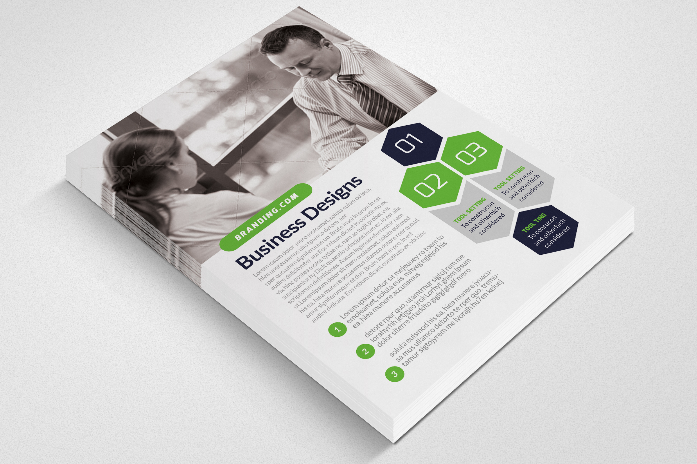 Business Training Flyer example image 3