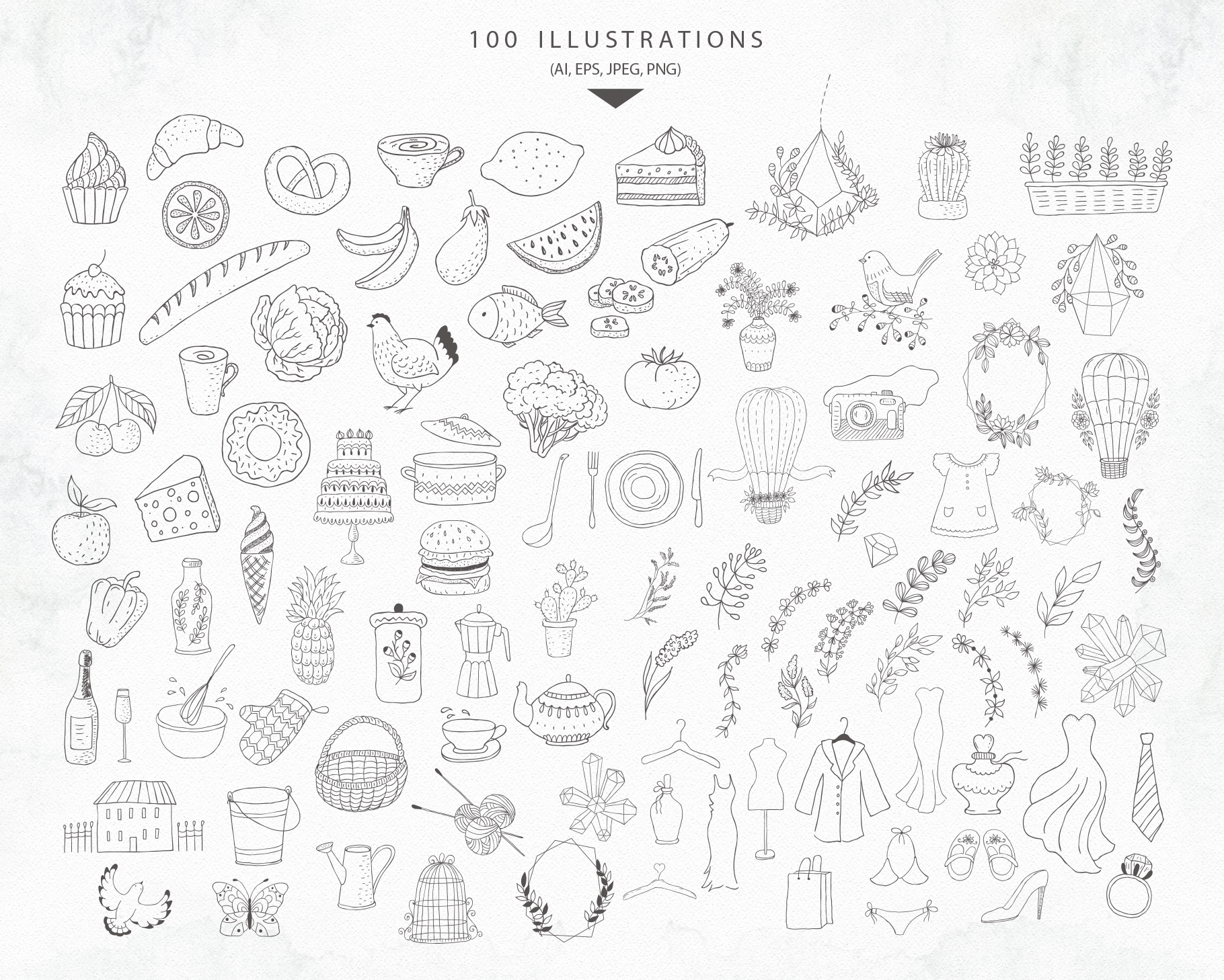 Fashionable Duo Font & Illustrations example image 21
