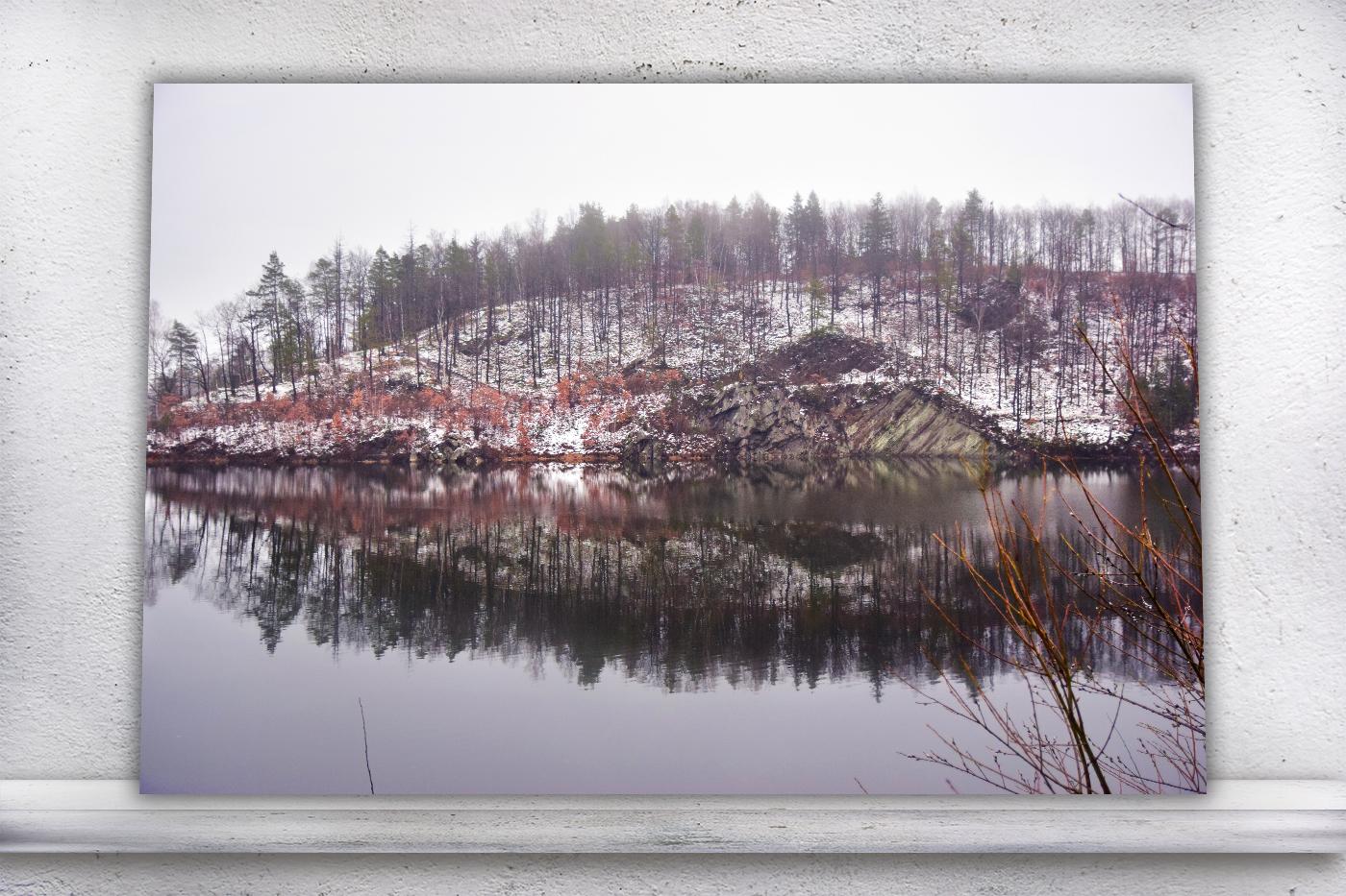 Nature photo, landscape photo, lake photo, winter photo example image 2
