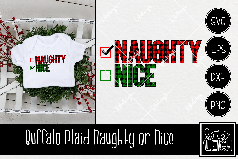 Buffalo Plaid Christmas Bundle SVG example image 6