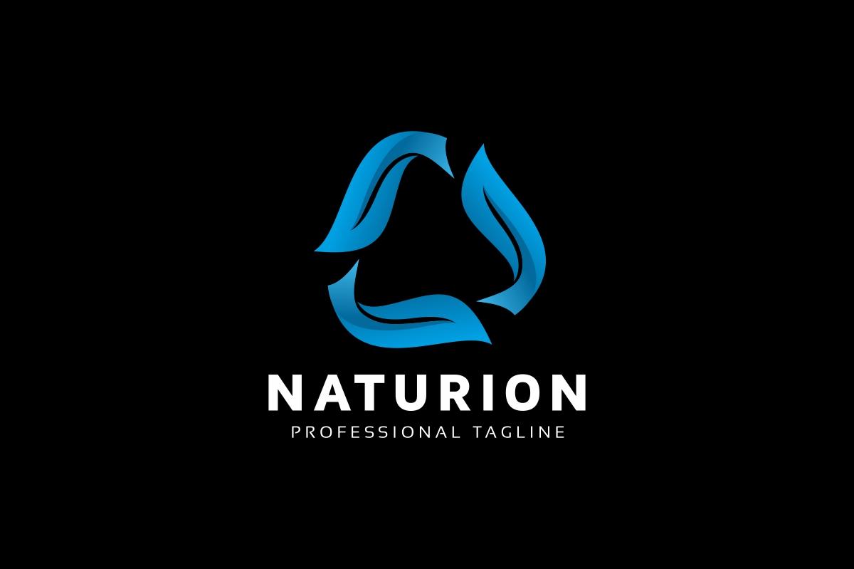 Nature Rotation Leaves Logo example image 2